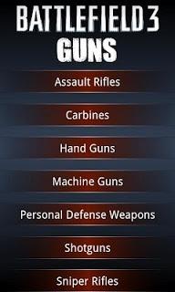 Battlefield 3 Guns screenshot 1