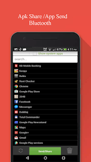 Apk Share Bluetooth - Send/Backup/Uninstall/Manage screenshot 1