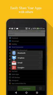Apk Share Bluetooth - Send/Backup/Uninstall/Manage screenshot 2