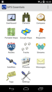 GPS Essentials screenshot 1