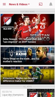 MLS Soccer Scores & Highlights screenshot 1