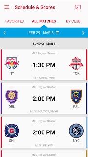 MLS Soccer Scores & Highlights screenshot 2