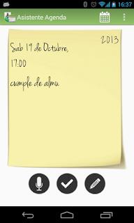 Asistente Agenda screenshot 1
