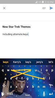 Swype Keyboard pc screenshot 1
