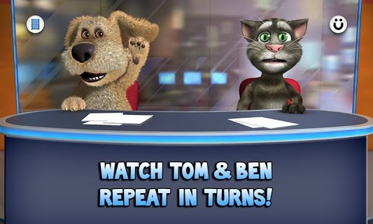 Talking Tom & Ben News screenshot 2
