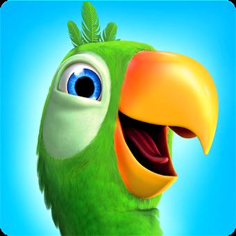 Talking Pierre the Parrot app