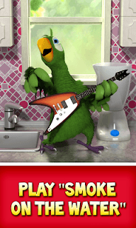 Talking Pierre the Parrot screenshot 1