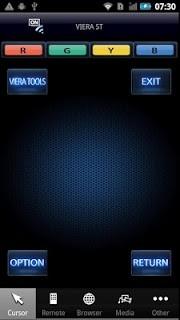 Panasonic Tv Remote screenshot 1