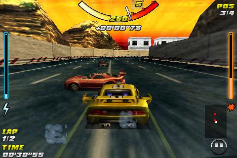 Raging Thunder  screenshot 1