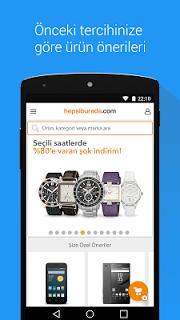 Hepsiburada screenshot 1