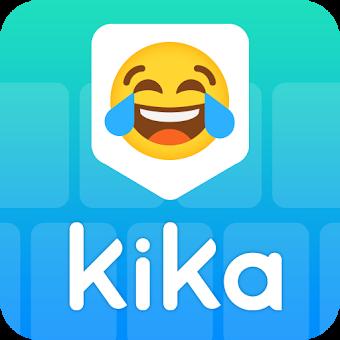 Kika Keyboard - Emoji Keyboard, Emoticon, GIF app