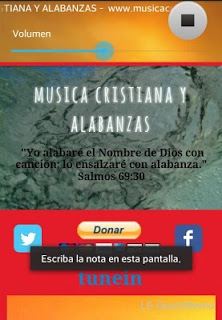 Cristiana Y Alabanzas APK screenshot 1
