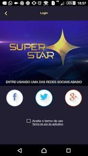 Superstar APK screenshot 1