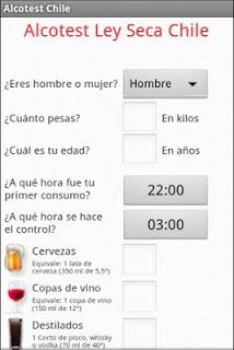 Alcotest Chile pc screenshot 1