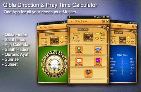 Qibla Direction Finder screenshot 1
