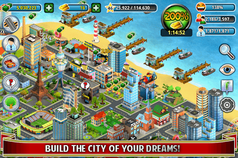 City Island ™: Builder Tycoon screenshot 1