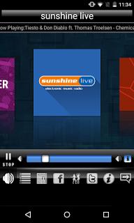 Radio Sunshine Live pc screenshot 1