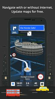GPS Navigation & Offline Maps Sygic screenshot 2