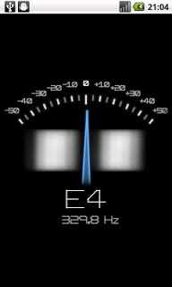 Pitchlab Guitar Tuner APK screenshot 1