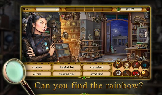 Hidden Objects: Mystery Society HD Free Crime Game screenshot 1