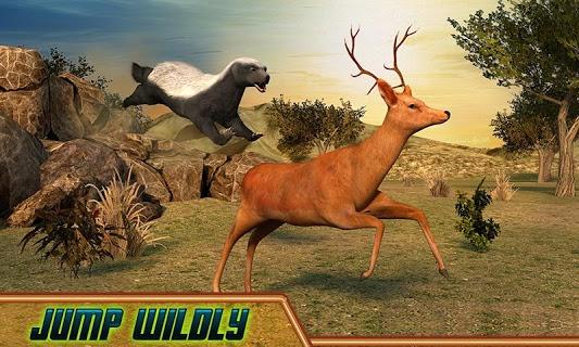 Honey Badger Simulator screenshot 1