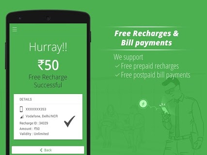 Get Wallet Cash & Recharge APK screenshot 1