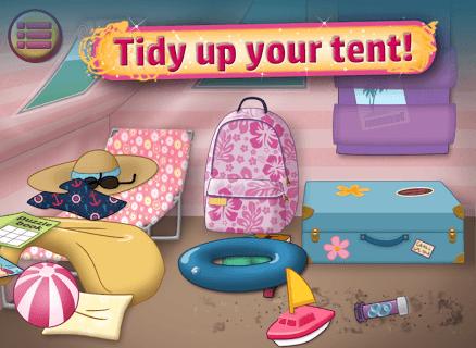 Summer Girl : Camping Life screenshot 1