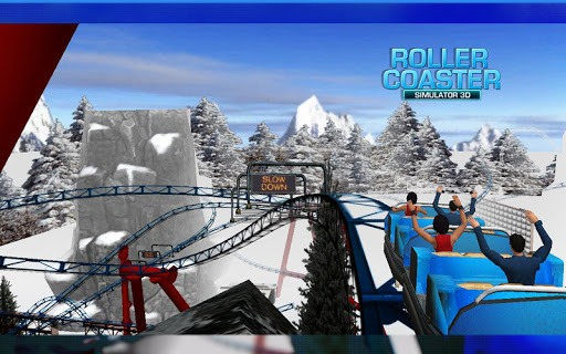 Roller Coaster Simulator screenshot 1