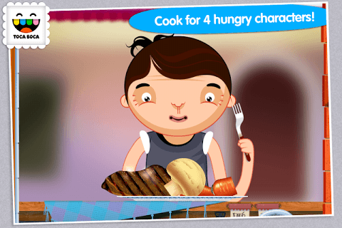 Toca Kitchen screenshot 1