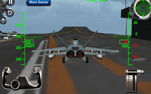 F18 3d Fighter Jet Simulator screenshot 1
