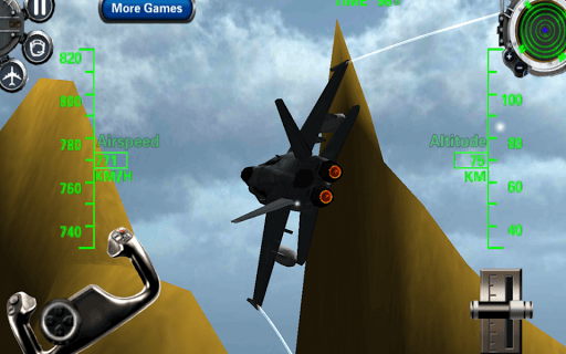 F18 3d Fighter Jet Simulator screenshot 2