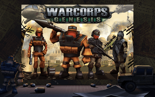 WarCom: Genesis screenshot 1