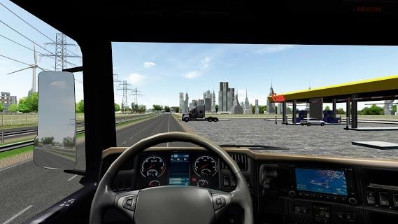 Truck Simulator PRO 2017 screenshot 1
