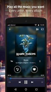 Deezer: download music. Play radio & any song, MP3 screenshot 1
