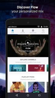 Deezer: download music. Play radio & any song, MP3 screenshot 2
