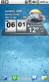 3d Digital Weather Clock screenshot 1