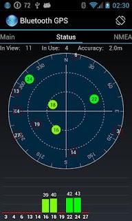Bluetooth GPS screenshot 2