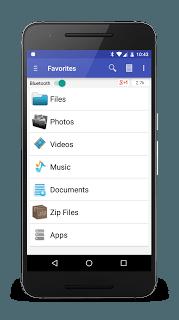 Bluetooth File Share screenshot 1