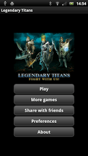 Clash Of Legendary Titans screenshot 1