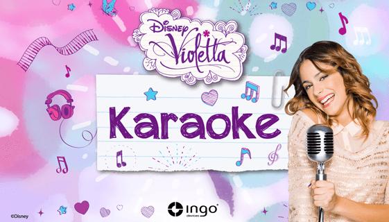 Karaoke Violetta pc screenshot 1