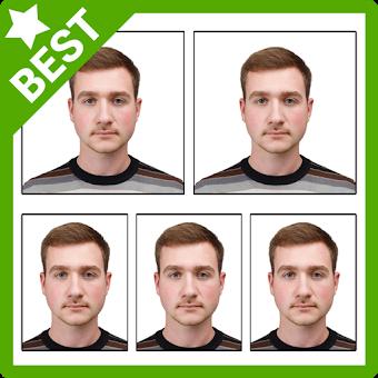 Passport Size Photo Editor app