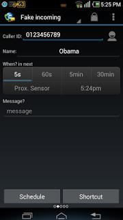 Fake Call & Sms & Call Logs screenshot 2
