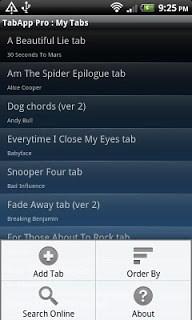Guitar Tabapp  pc screenshot 1