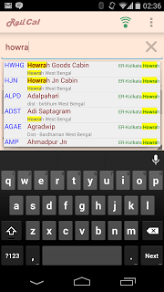 RailCal: the official India Rail Info app screenshot 1
