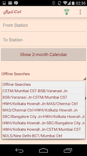 RailCal: the official India Rail Info app screenshot 2