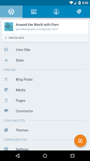 WordPress screenshot 1