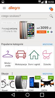 Allegro screenshot 1