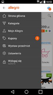Allegro screenshot 2