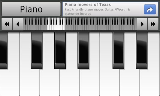 Musical Piano screenshot 1