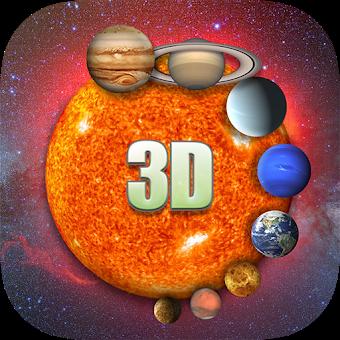 Solar System 3D Viewer app